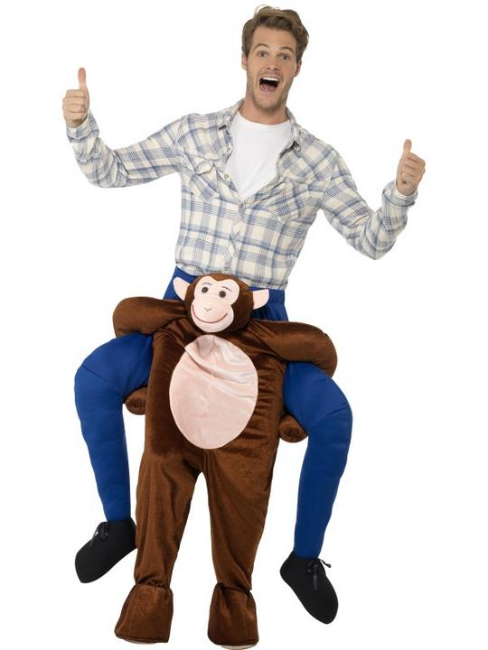 Piggyback Monkey Costume Thumbnail 1