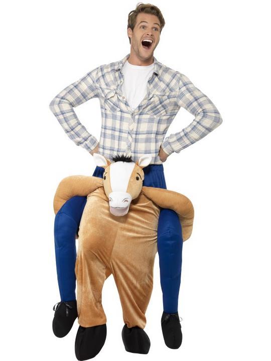 Piggyback Horse Costume Thumbnail 1