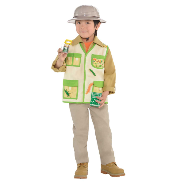 Explorer  Unisex Kit Fancy Dress Costume