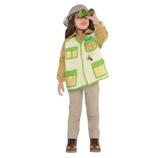 Explorer  Unisex Kit Fancy Dress Costume Thumbnail 2