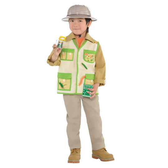 Explorer  Unisex Kit Fancy Dress Costume Thumbnail 1