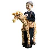 Girls Ride on Giraffe Costume Kids School Book Week Animal Fancy Dress oufit