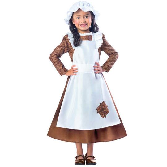 Victorian Girl Fancy Dress Costume Thumbnail 1