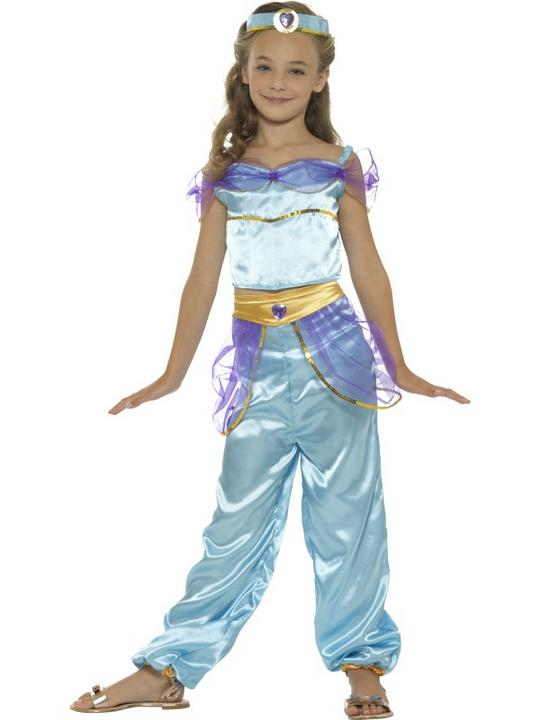 Girl's Arabian Princess Fancy Dress Costume Thumbnail 1