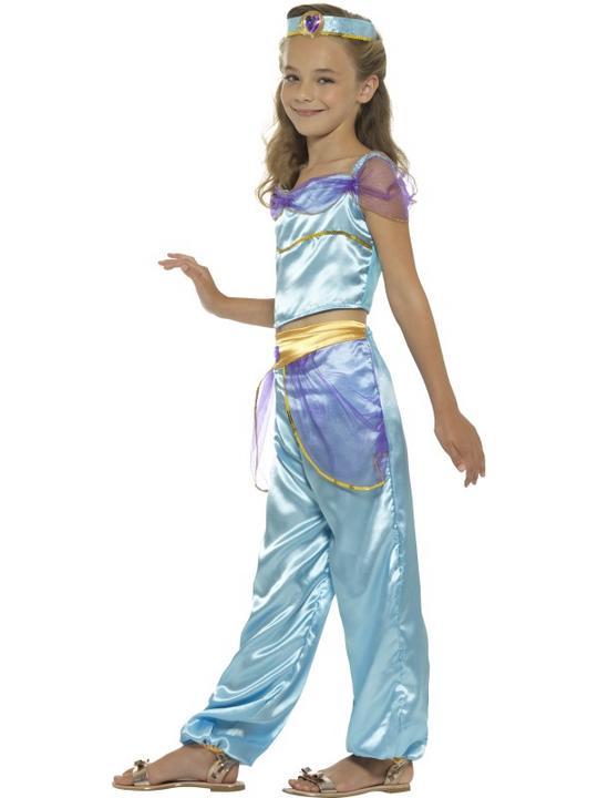 Girl's Arabian Princess Fancy Dress Costume Thumbnail 3