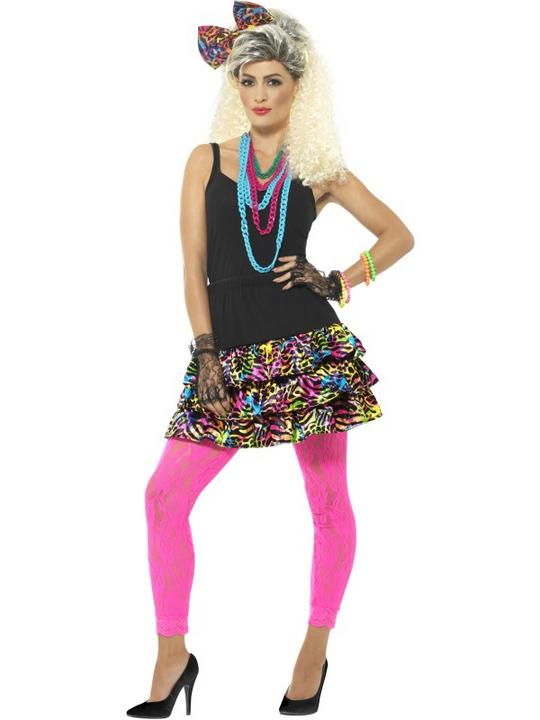 80's Party Girl Kit Costume Thumbnail 1