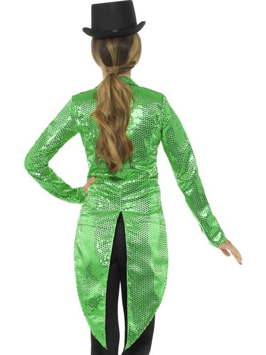RingmasterTailcoat Womens Costume Circus Ladies Fancy Dress Outfit Showman Thumbnail 2