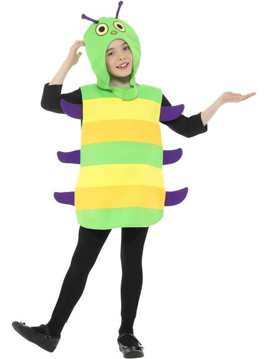 Caterpillar Kid's Fancy Dress Costume Thumbnail 1