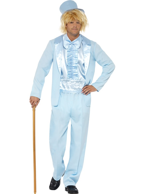 90's Stupid Tuxedo Fancy Dress Costume