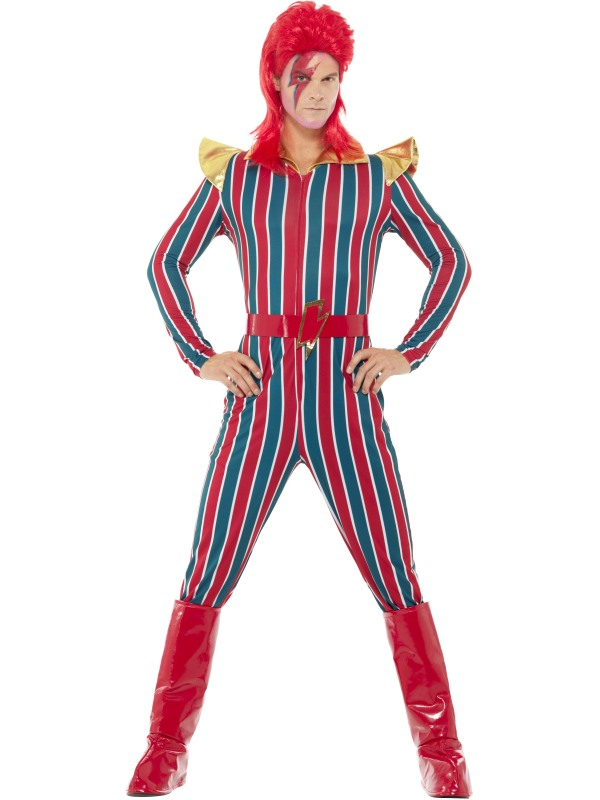 Space Superstar Men's Fancy Dress Costume
