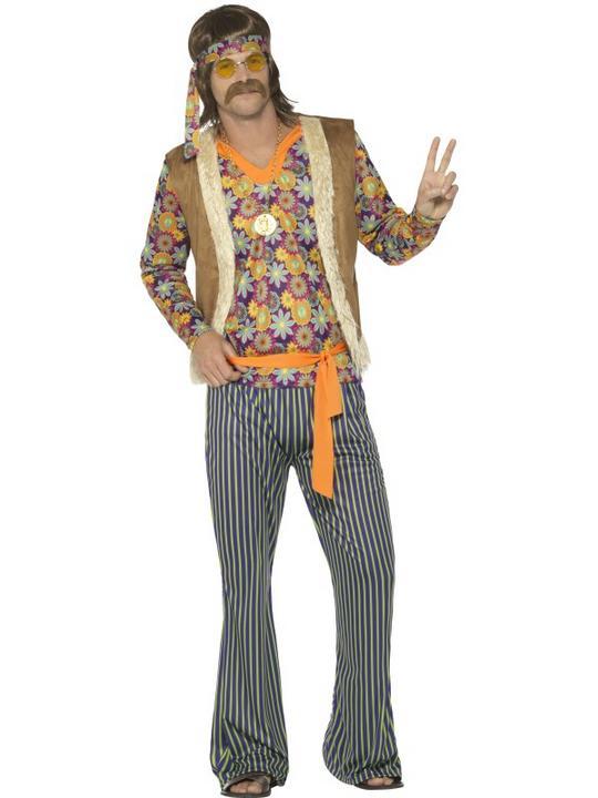 60's Singer Costume Men's Fancy Dress Costume Thumbnail 1