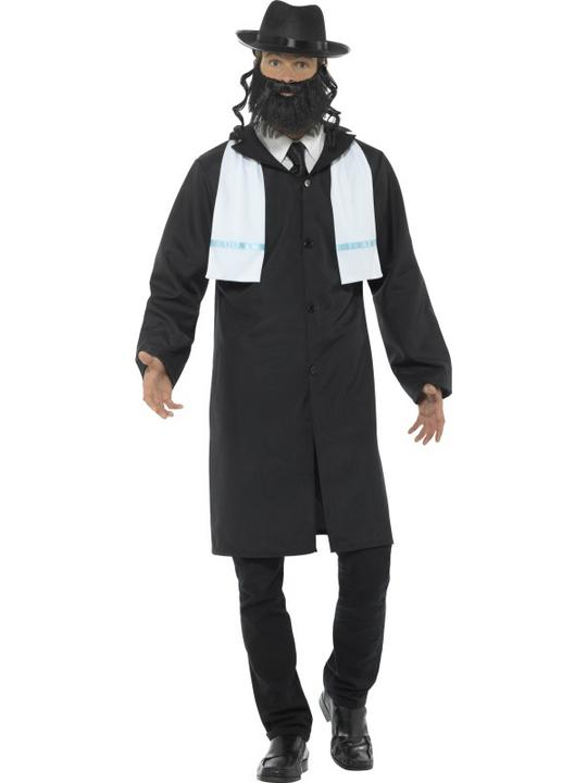 Rabbi Men's Fancy Dress Costume Thumbnail 1