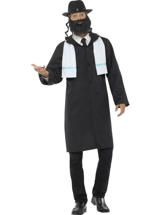 Rabbi Men's Fancy Dress Costume Thumbnail 2