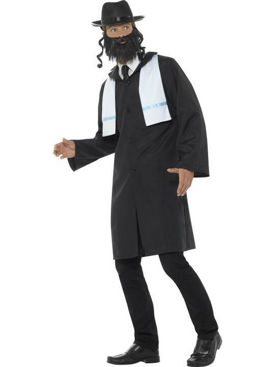 Rabbi Men's Fancy Dress Costume Thumbnail 4