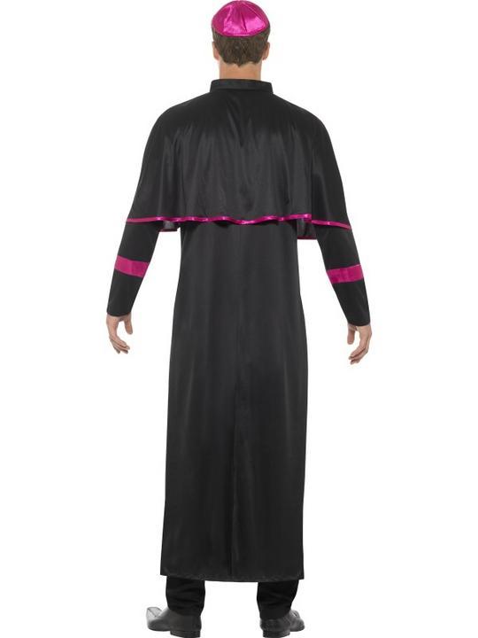 Cardinal Men's Fancy Dress Costume Thumbnail 2