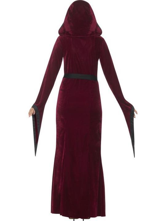 Medieval Vampiress  Women's Fancy Dress Costume Thumbnail 2