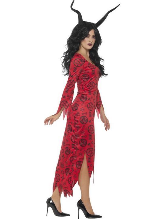 Occult Devil Women's Fancy Dress Costume Thumbnail 3