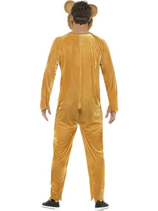 Deluxe Zombie Teddy Bear Men's Fancy Dress Costume Thumbnail 2