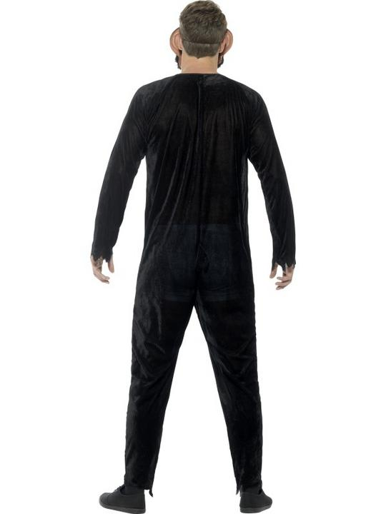 Deluxe Zombie Chimp Men's Fancy Dress Costume Thumbnail 2