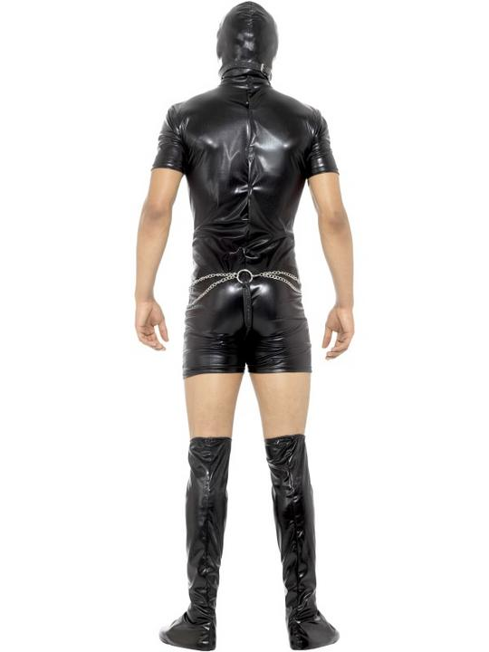 Bondage Gimp Men's Fancy Dress Costume Thumbnail 2