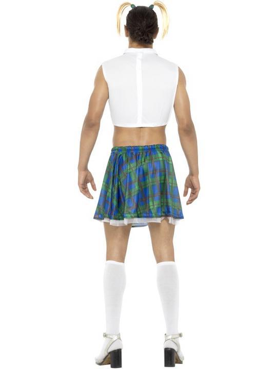 Sexy School Girl Men's Fancy Dress Costume Thumbnail 2