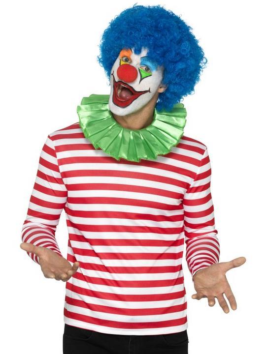 Stripy T-Shirt Adult Fancy Dress Costume Thumbnail 2