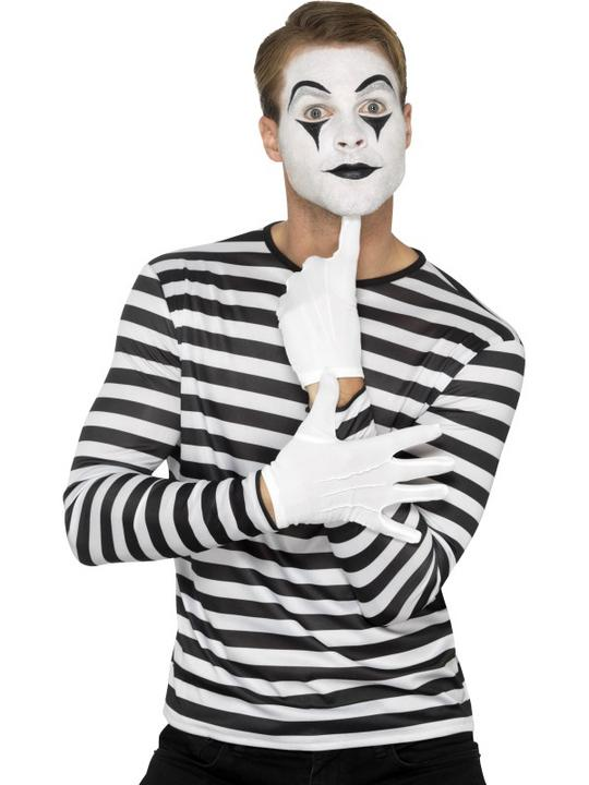 Stripy T-Shirt Unisex Fancy Dress Costume Thumbnail 4