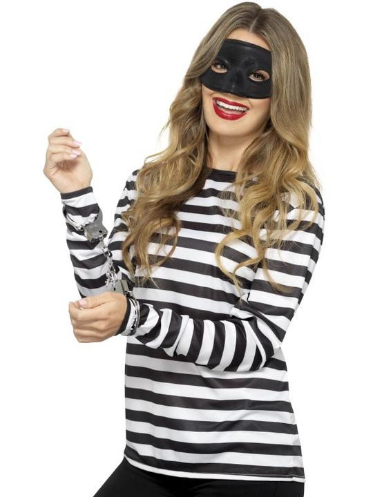 Stripy T-Shirt Unisex Fancy Dress Costume Thumbnail 6