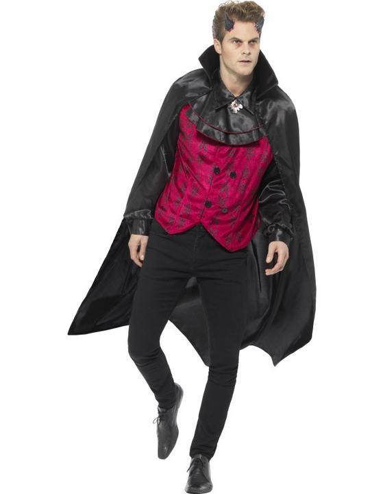 Dapper Devil Men's Fancy Dress Costume Thumbnail 1
