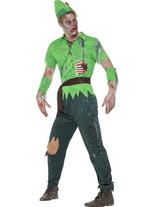 Zombie Lost Boy Fancy Dress Costume Thumbnail 2