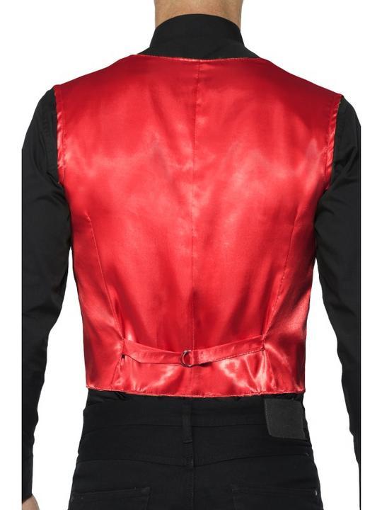 Sequin Waistcoat Men's Fancy Dress Costume Thumbnail 2