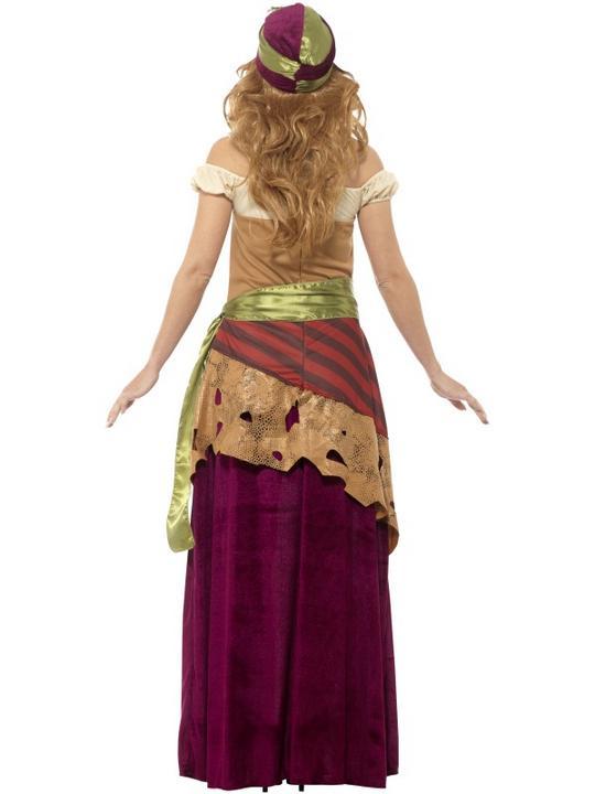 Deluxe Voodoo Priestess Women's Fancy Dress Costume Thumbnail 2