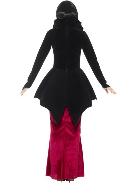 Deluxe Regal Vampiress Women's Fancy Dress Costume Thumbnail 2