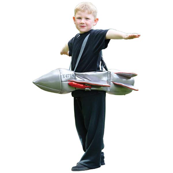 Ride on Jet Kids Fancy Dress Costume 3+ yrs