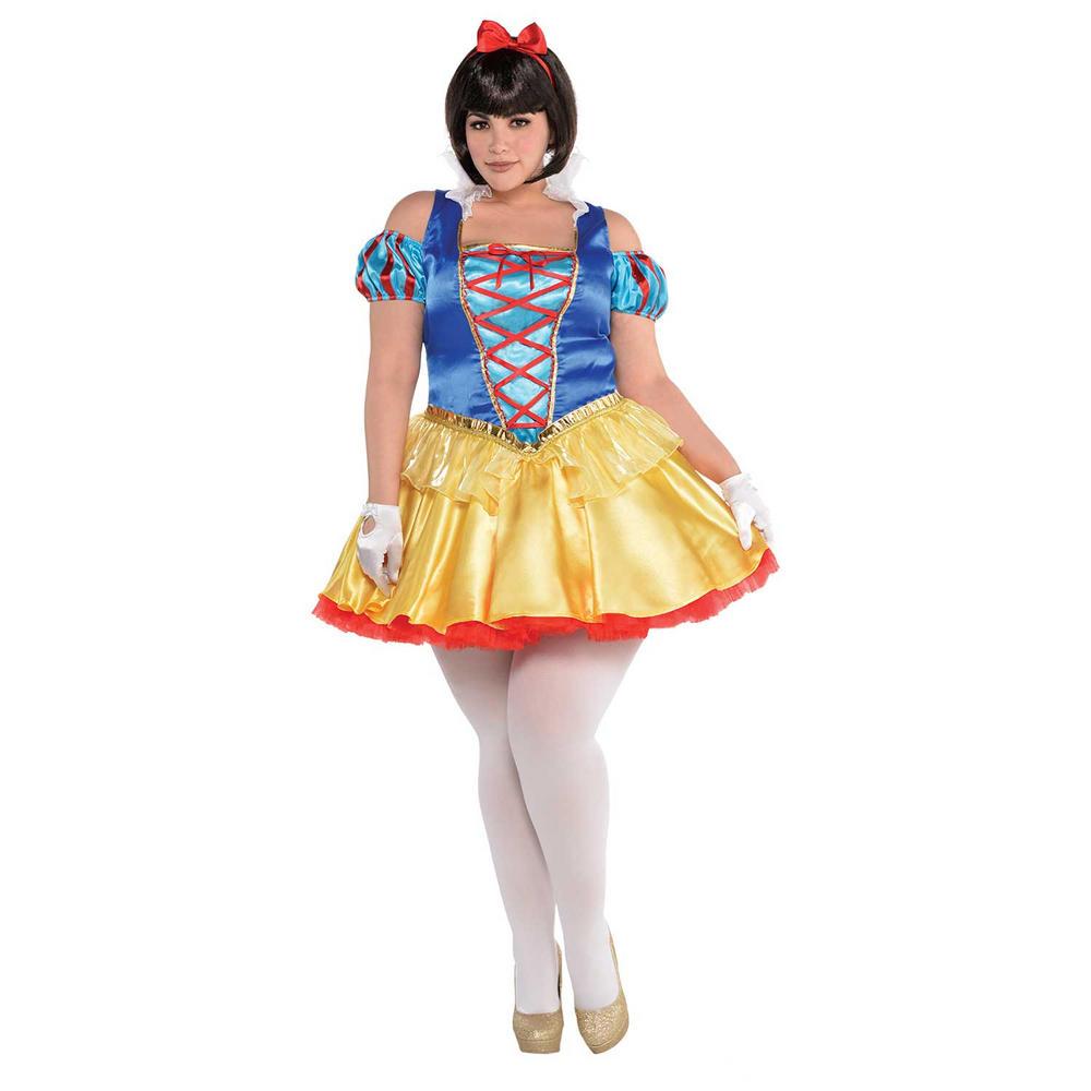 snow White Women's Fancy Dress Costume Plus Size