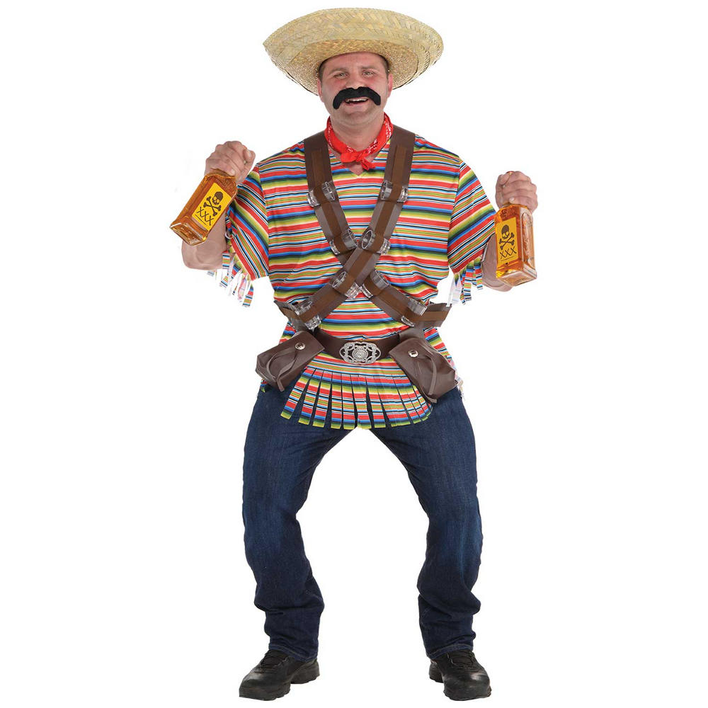 Tequila Bandito Men's Fancy Dress Costume Plus Size