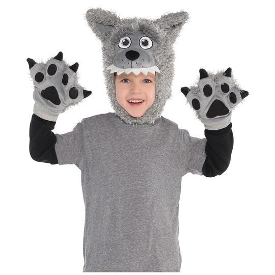 Wolf Kit Deluxe Kid's Fancy Dress Thumbnail 1