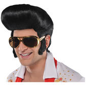 The King 50's Fancy Dress Wig