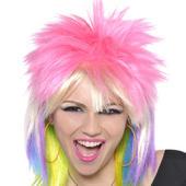 Punk Chick Rock Wig Women's