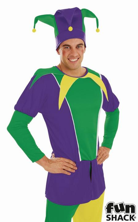 Jester Men's Fancy Dress Costume Thumbnail 2