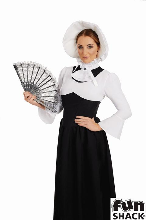 Victorian Woman Fancy Dress Costume Thumbnail 2