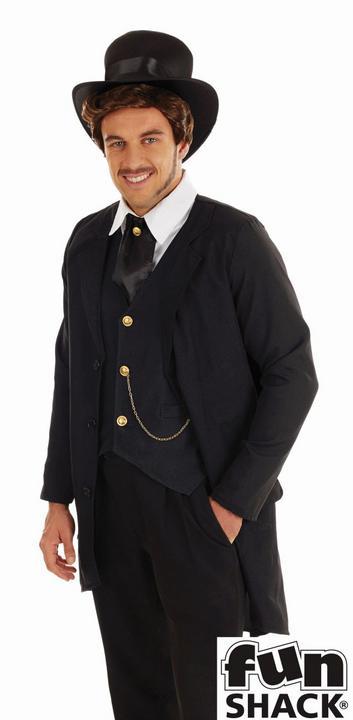 Victorian Man Fancy Dress Costume Thumbnail 2