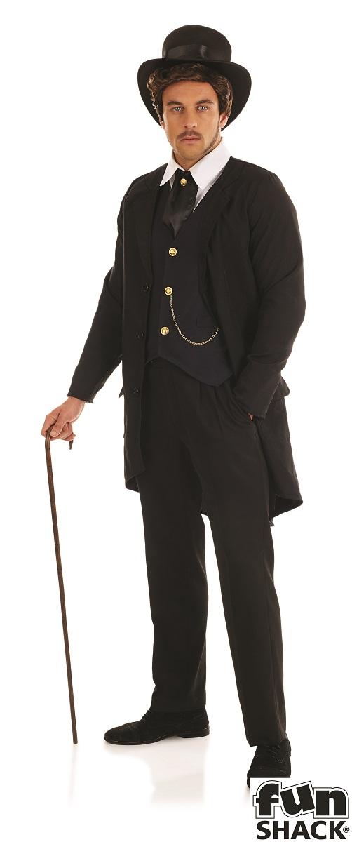 Victorian Man Fancy Dress Costume