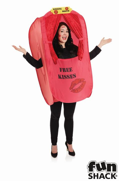 Kissing Booth Men's Fancy Dress Costume Thumbnail 1