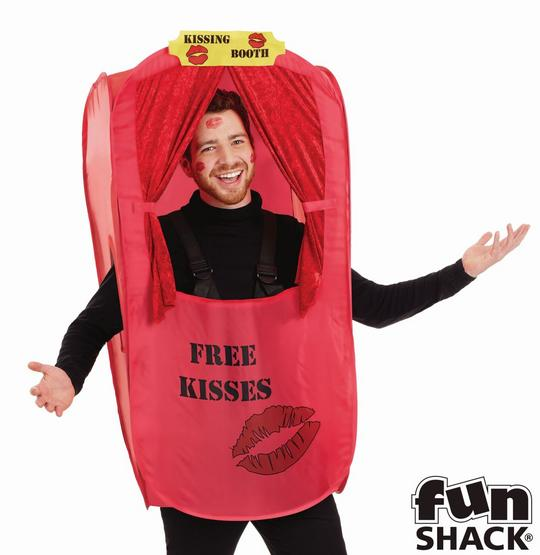 Kissing Booth Men's Fancy Dress Costume Thumbnail 3