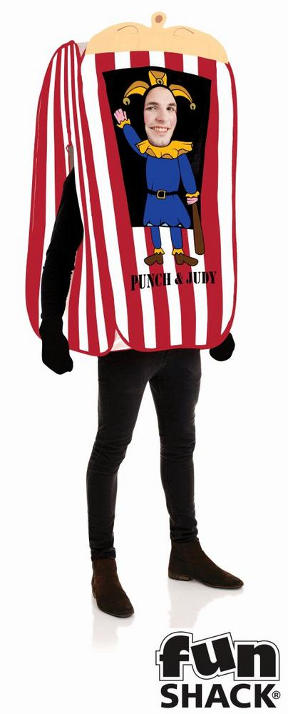 Punch And Judy Booth Men's Fancy Dress Costume