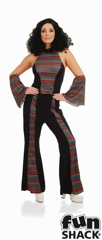 Disco Diva Women's Fancy Dress Costume