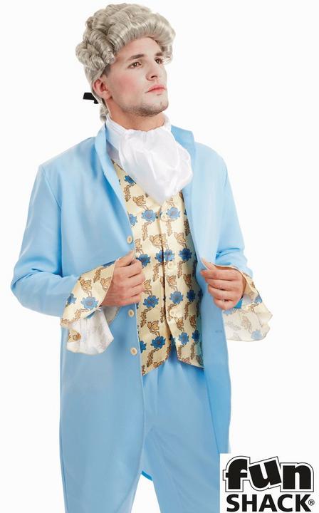 Georgian Gent Men's Fancy Dress Costume Thumbnail 2