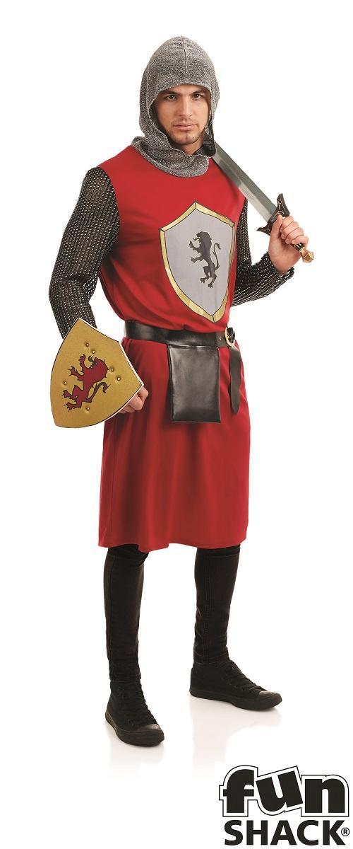 Kings Knight Men's Fancy Dress Costume