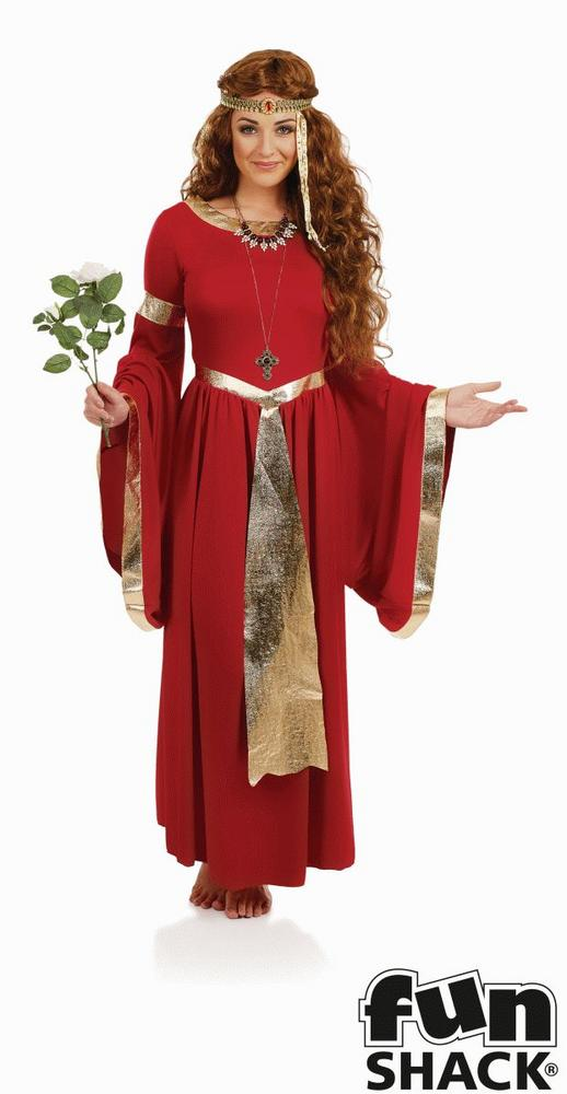 Lady Renaissance Women's Fancy Dress Costume